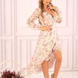 Асиметрична ефирна рокля Metariam