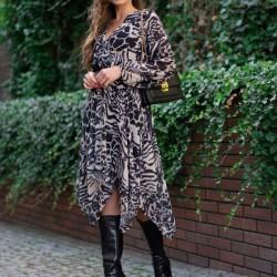 Асиметрична ефирна рокля Nemey