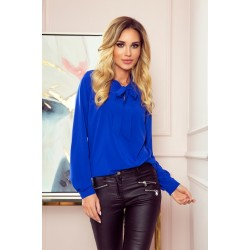 Блуза в син цвят 140-11