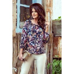 Дамска блуза на цветя 271-2
