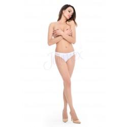 Безшевни бикини в бял цвят