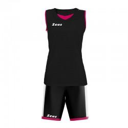Баскетболен Екип ZEUS Kit Flora Woman Nero
