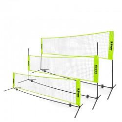Мрежа За Фут-Тенис/Джитбол ZEUS Soccer Tennis Badminton Set 6x2m
