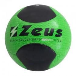 Топка За Плажен Футбол ZEUS Pallone Beach Soccer Sand Verde fluo/Nero