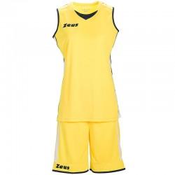 Баскетболен Екип ZEUS Kit Flora Woman Giallo/Blu