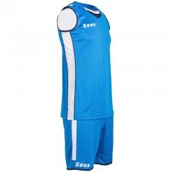 Баскетболен Екип ZEUS Kit Flora Woman Royal
