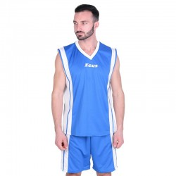 Баскетболен Екип ZEUS Kit Bozo Royal/Bianco