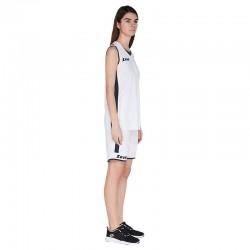 Баскетболен Екип ZEUS Kit Flora Woman Bianco/Blu
